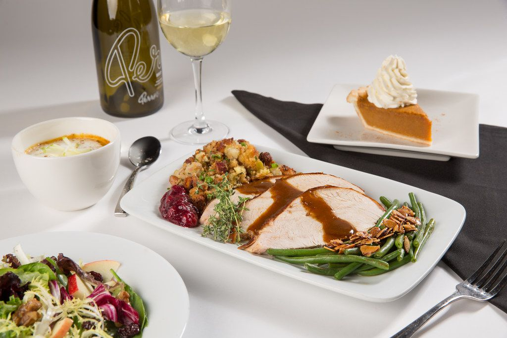 Perry's Steakhouse and Grille, which has restaurants in Grapevine, Frisco and Dallas, will serve its full dinner menu or the option of a three-course Thanksgiving dinner.