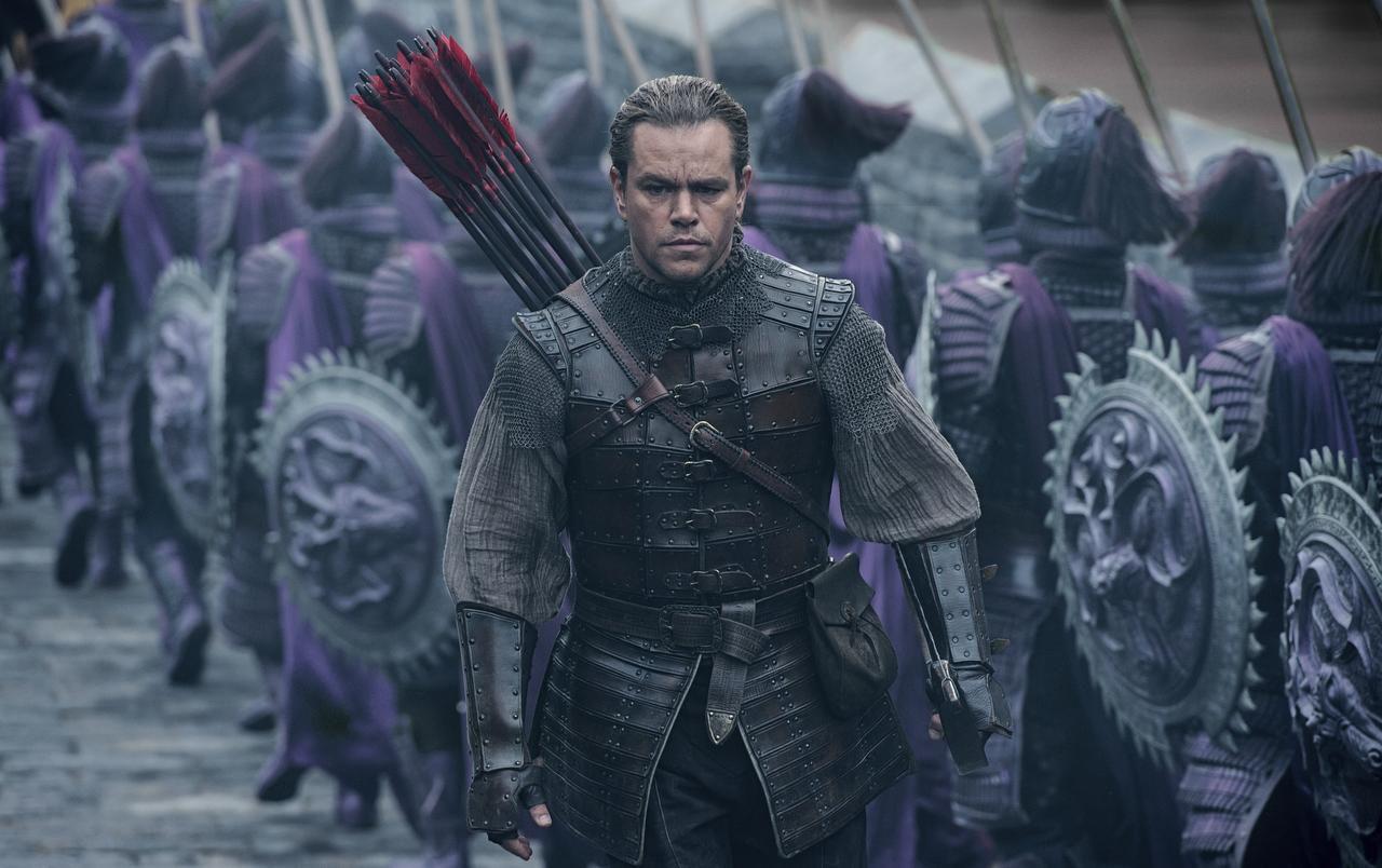 """Matt Damon como William Garin en una escena de """"The Great Wall"""". (AP/Jasin Boland)"""