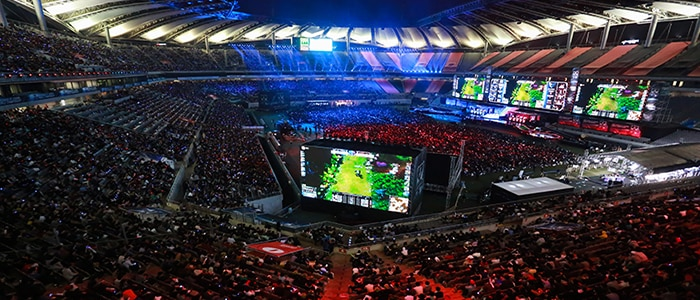 League of Legends World Championship at Seoul World Cup Stadium in SouthKorea. (Riot Games)