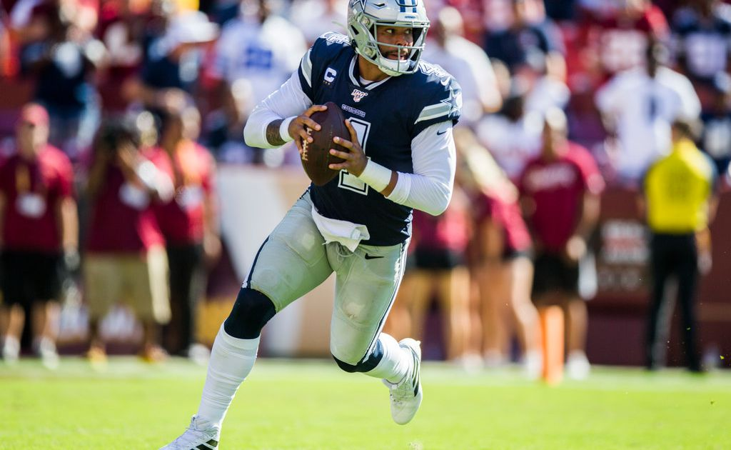 In the past, teams haven't focused on stopping Dak Prescott. But now the Cowboys QB is a threat of his own.