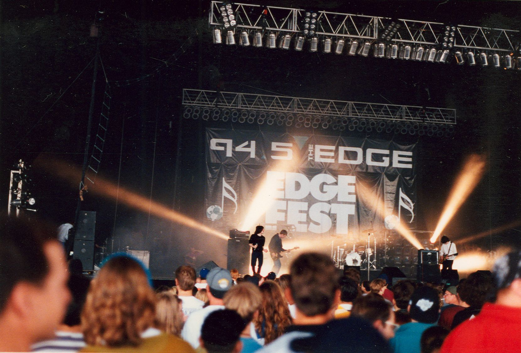 The Charlatans at EdgeFest. The good ol' days.