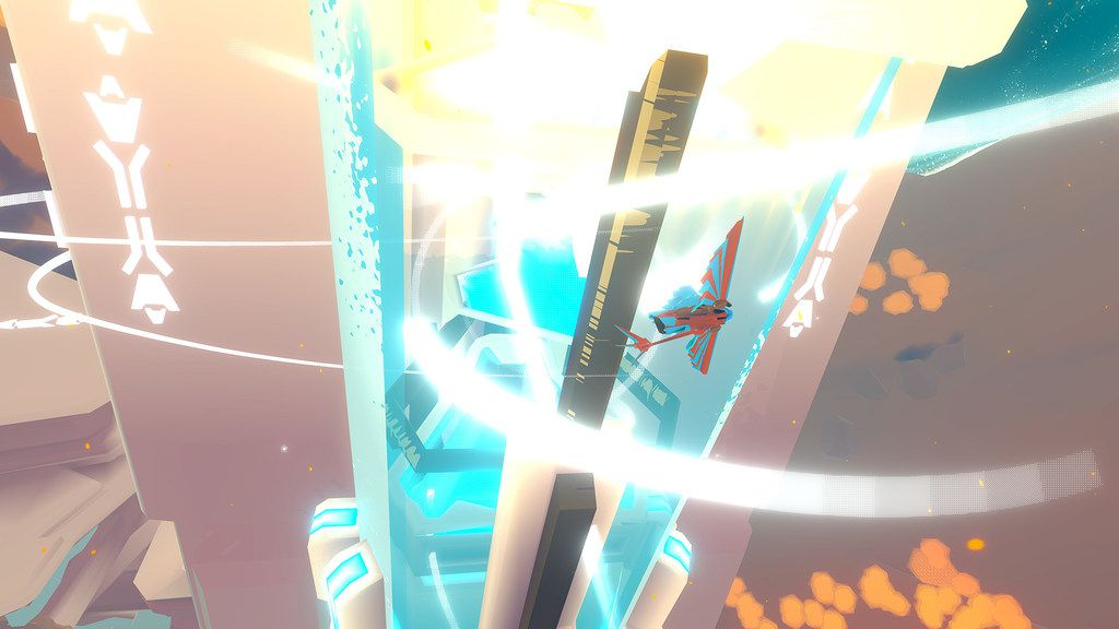 A screenshot from InnerSpace, developed in the Dallas area by PolyKnight Games.