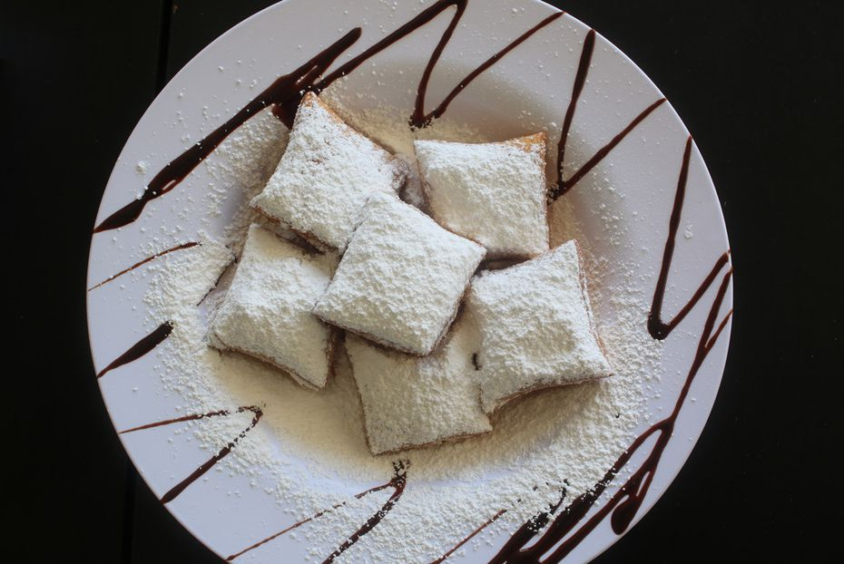 While in Shreveport, try some beignets at Marilynn's Place.