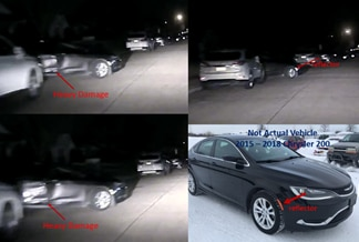Police released surveillance images of a car that fled a home-invasion robbery in Mesquite on Thursday.