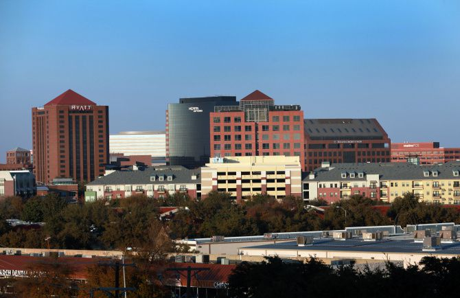 The Telecom Corridor is leading Dallas-Fort Worth area in leasing this year.