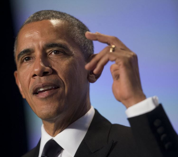 President Barack Obama addresses the nation about terrorism. (Photo by Saul Loeb-Pool/Getty Images)