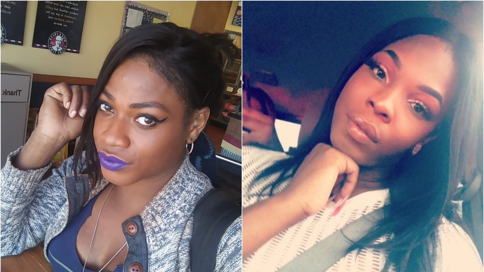 Chynal Lindsey (left), a 26-year-old woman from Arlington who was found dead in White Rock Lake on June 1, and Muhlaysia Booker, who was found shot to death last month.