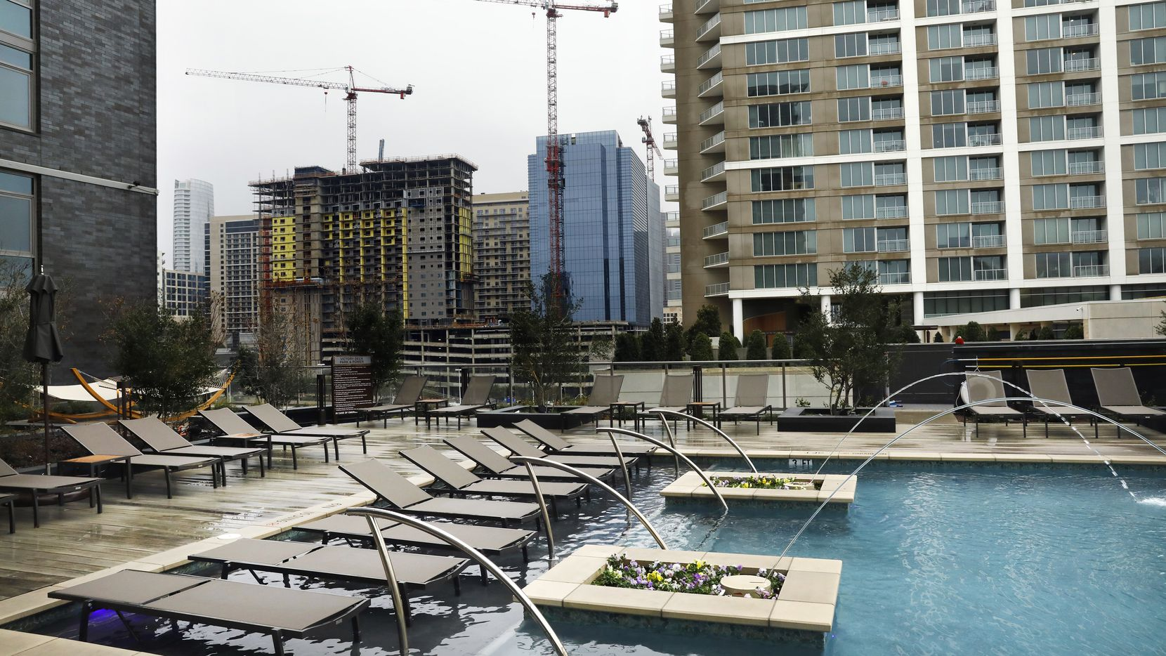 Almost 3,000 new high-rise apartments have opened in the Dallas area and another 4,500 are on the way.