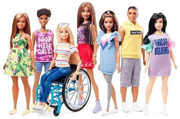 La nueva línea de muñecas de Barbie. AGENCIA REFORMA.