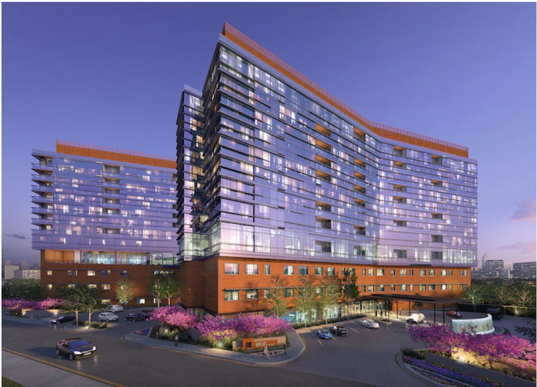 The Ventana seniors high-rise project is at North Central Expressway and Northwest Highway.