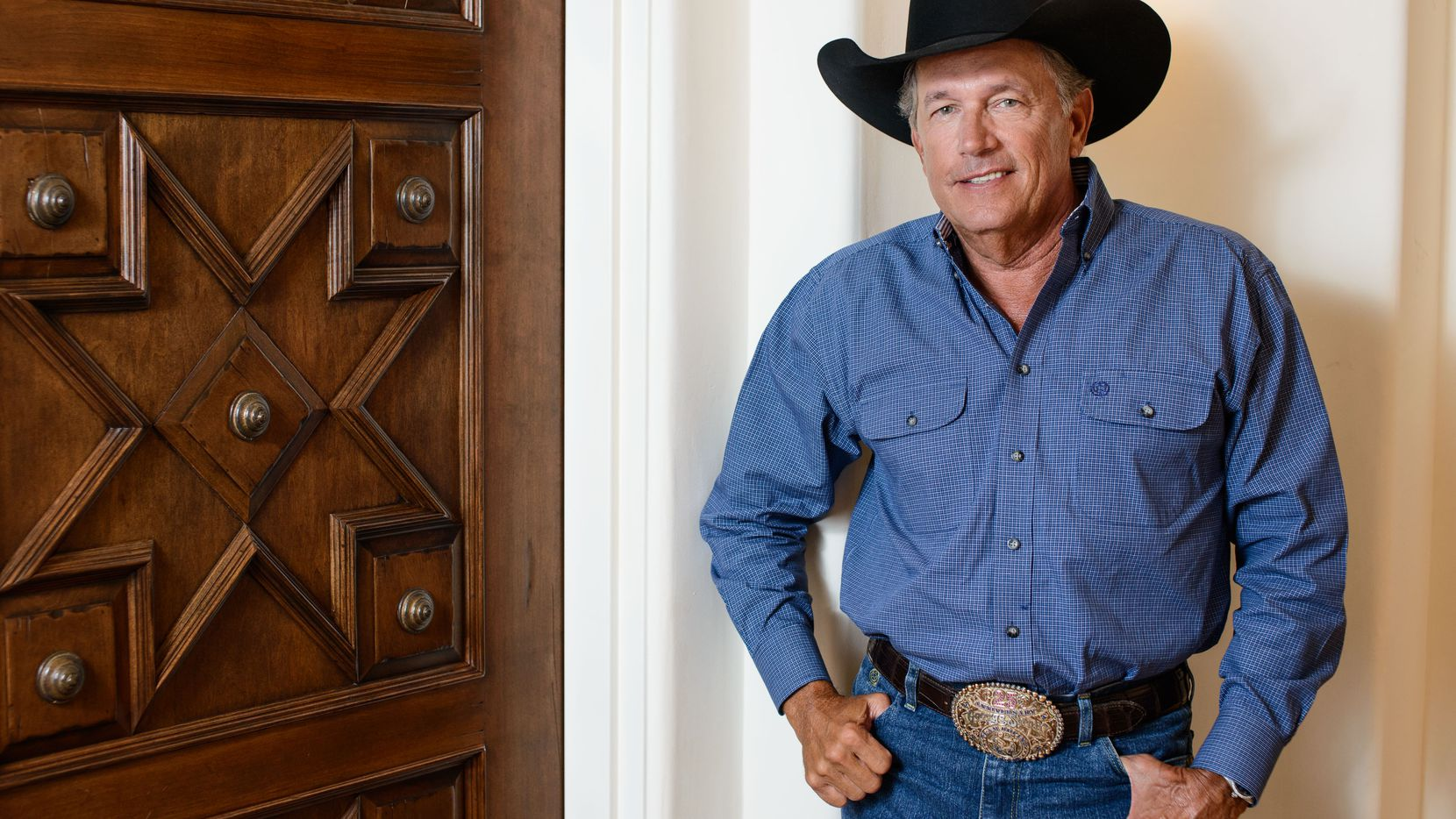 "George Strait released a new album, ""Cold Beer Conversation,"" on Friday and also revealed that he''ll play a series of shows at the new Las Vegas Arena when it opens in 2016. (Photo by Al Powers/Powers Imagery/Invision/AP)"