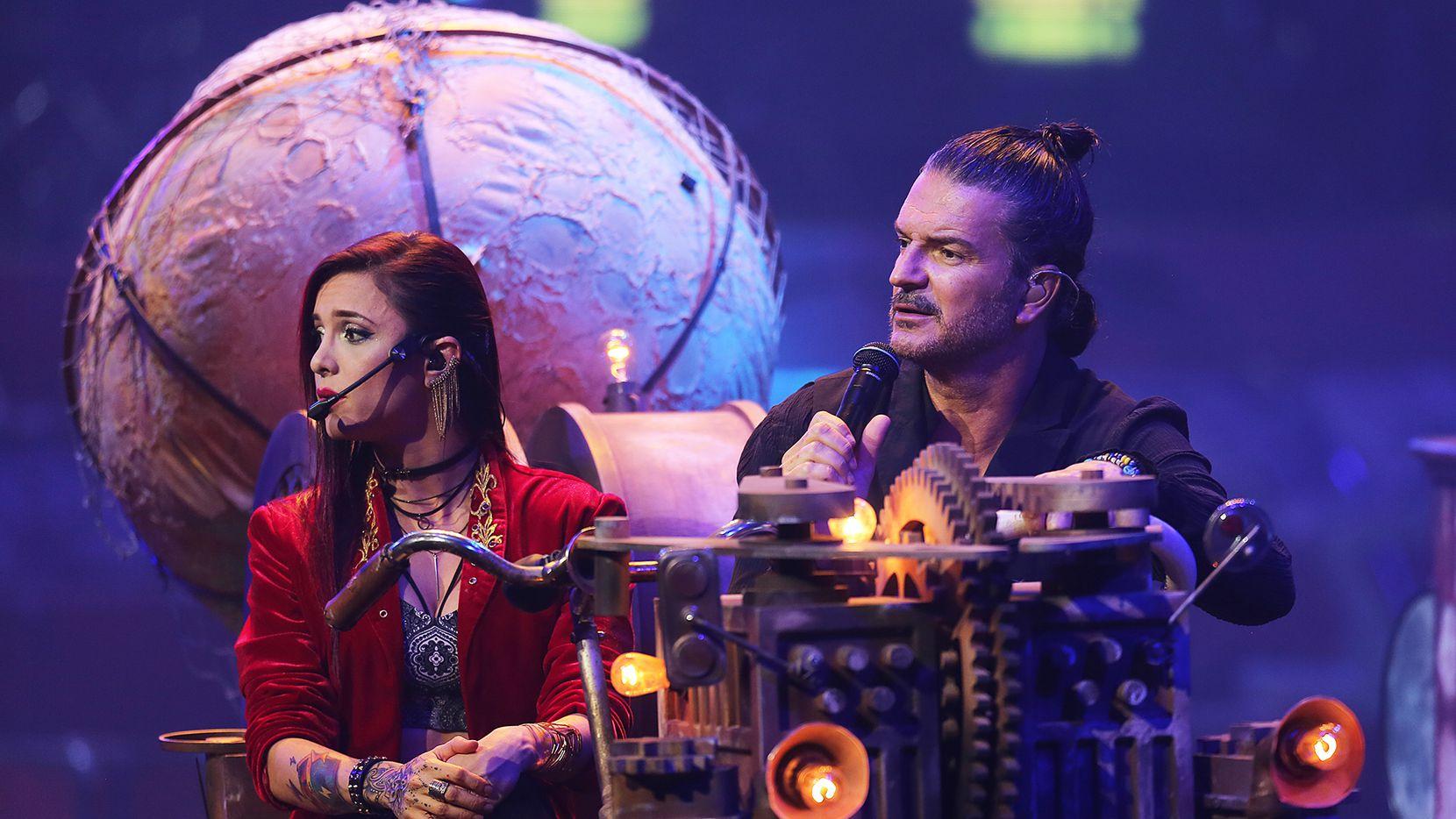 "Ricardo Arjona trajo su gira ""Circo Soledad al Verizon Theatre en Grand Prairie./ FOTO ESPECIAL PARA AL DIA OMAR VEGA"