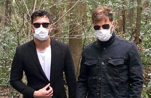 A través de las redes sociales, Jwan Yosef publicó una imagen en la que aparece acompañado por Ricky Martin durante sus vacaciones en Tokio./AGENCIA REFORMA