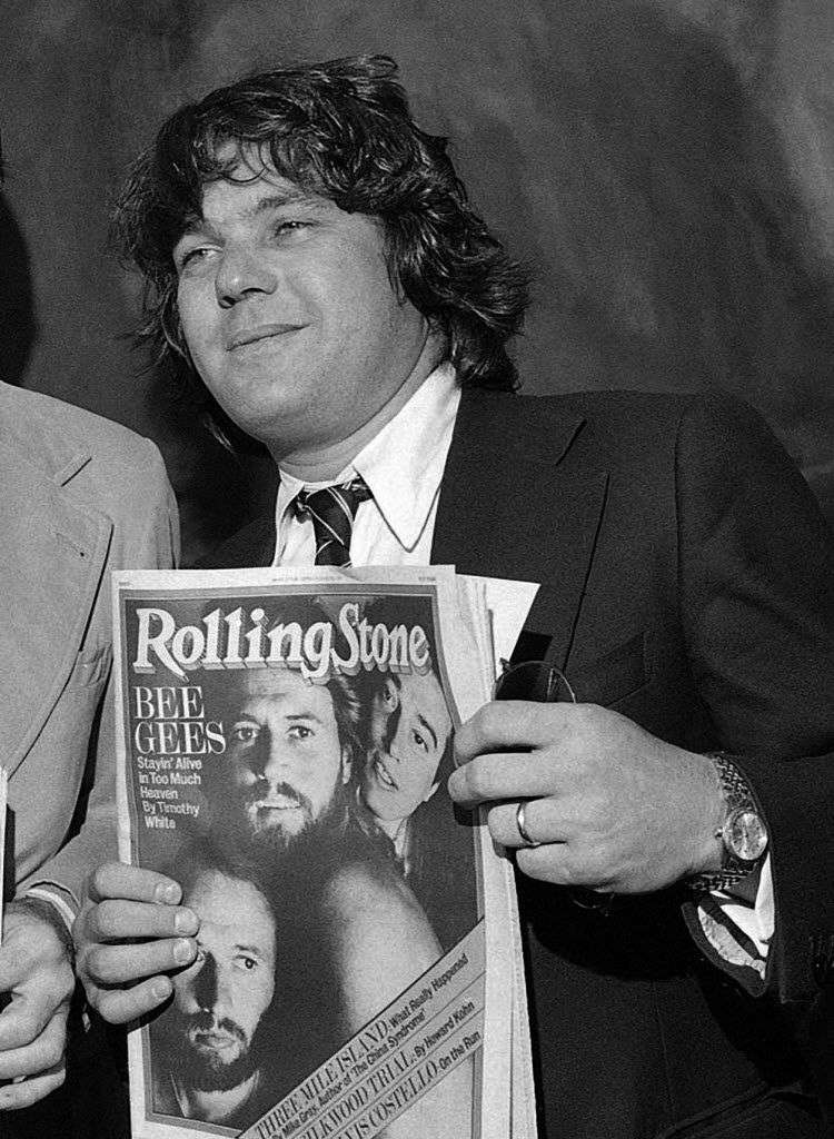 In this May 8, 1979 file photo, editor and publisher of Rolling Stone Jann Wenner, appears in New York.