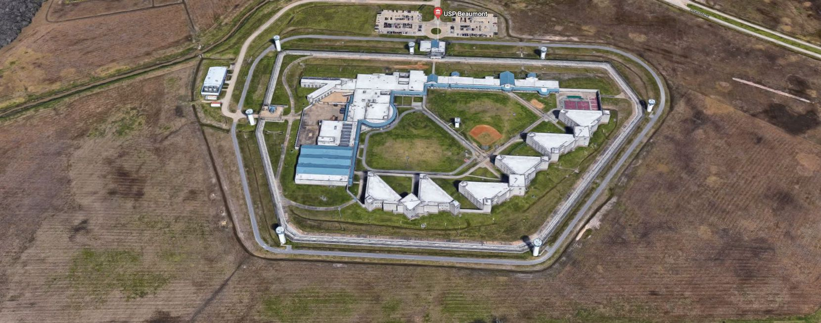 Authorities say prisoners have repeatedly left the facility to pick up contraband from neighboring property.