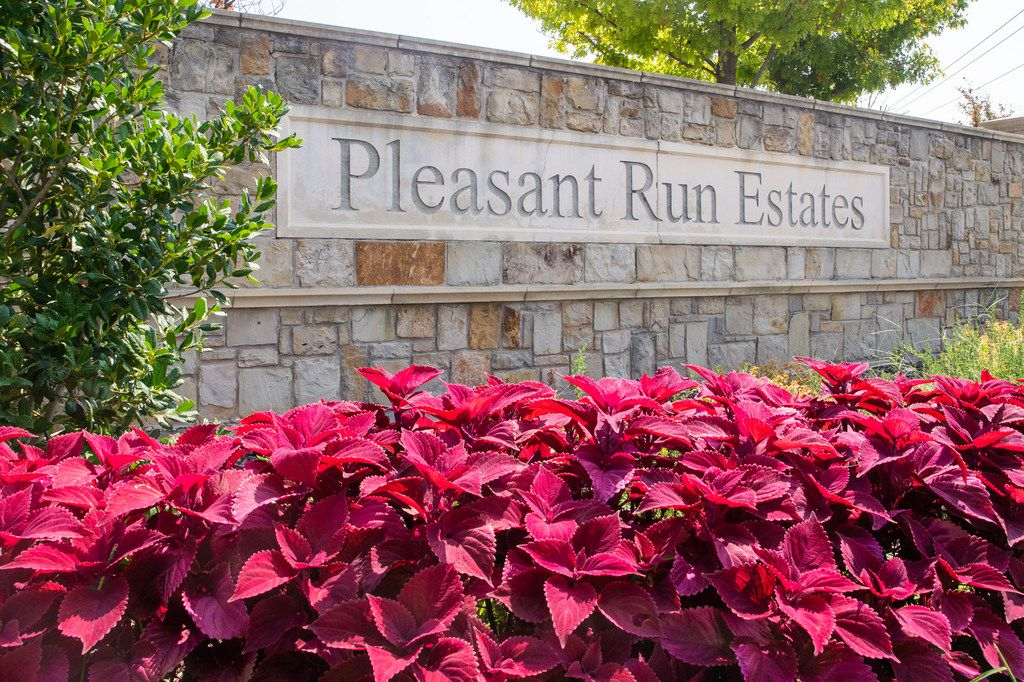 A woman was shot over the weekend in Pleasant Run Estates, a housing development in Lancaster.