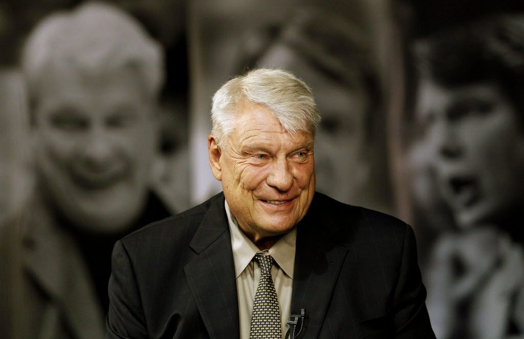 Former Golden State Warriors head coach Don Nelson smiles while being interviewed at the Warriors NBA training facility in Oakland, Calif., Tuesday, Aug. 28, 2012. Nelson always did things his way, and it hardly mattered who objected to his coaching techniques. He is the NBA's winningest coach ever because of it, and, now, a Hall of Famer. And, don't forget, he's the one who could regularly be seen smoking a cigar in the parking lot before games. (AP Photo/Jeff Chiu) / mug - mugshot - headshot - portrait / 08302012xBRIEFING 09072012xSPORTS 09082012xSPORTS