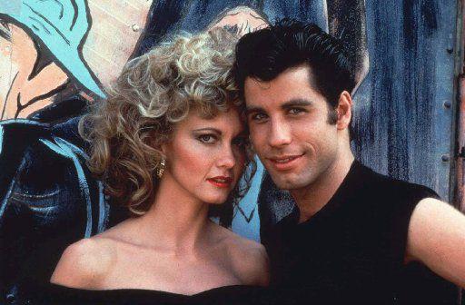 Olivia Newton-John and John Travolta starred in the 1978 film Grease.