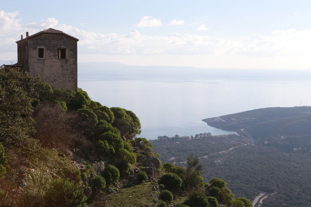 Visiting the ancient Albanian hilltop village of Qeparo is like stepping into a time warp.