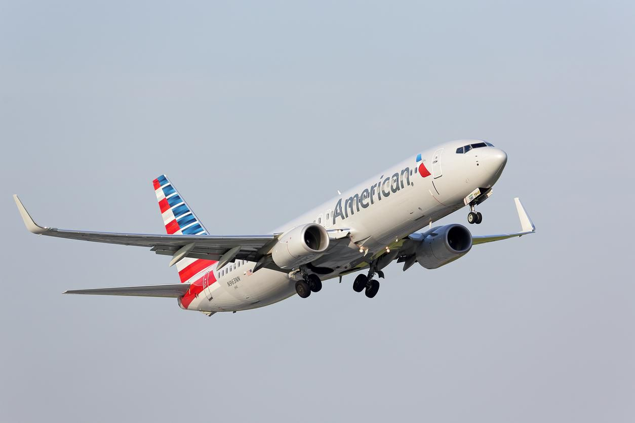 Una nave Boeing 737 de American Airlines.(GETTY IMAGES)
