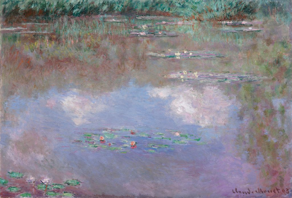 Claude Monet, French, 1840 to 1926, The Water Lily Pond, 1903