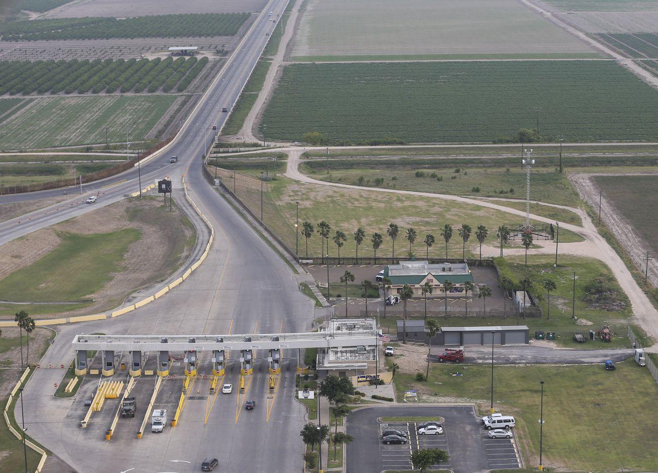 The Pharr International Bridge on Wednesday, April 30, 2019, in Pharr.