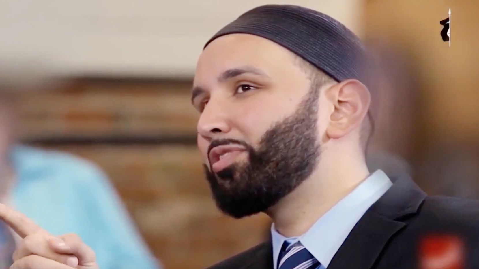Imam Omar Suleiman was shown in an ISIS video that appeared online making threats against him and other Western imams.