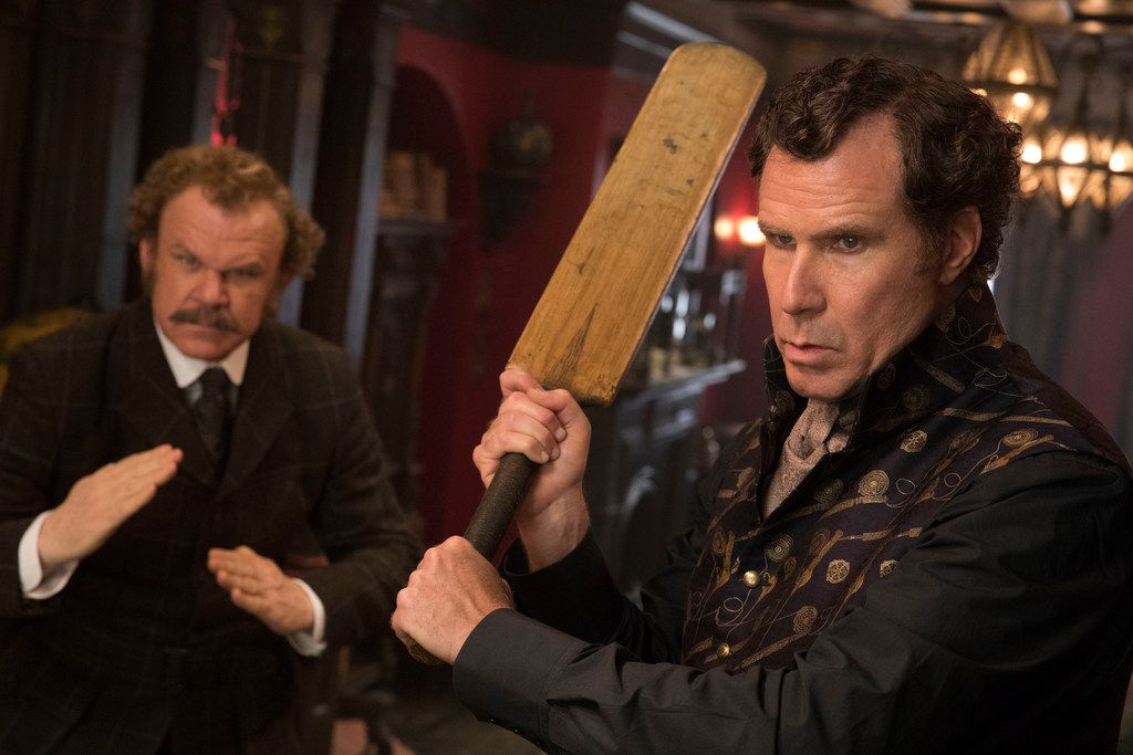"""Watson (John C. Reilly) and Sherlock Holmes (Will Ferrell) star in """"Holmes and Watson,"""" almost universally panned."""