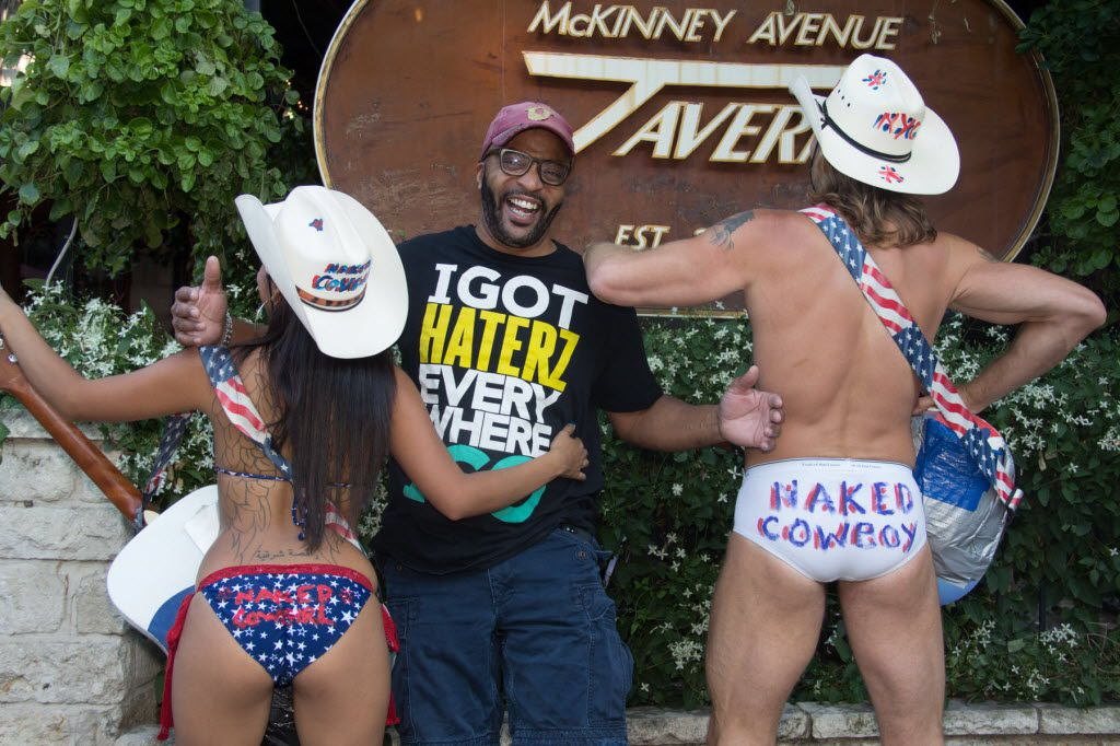 Big Al Mack, owner of the MAT in Uptown, often hosts fun events at his bar, such as the Naked Cowboy/Cowgirl competition.