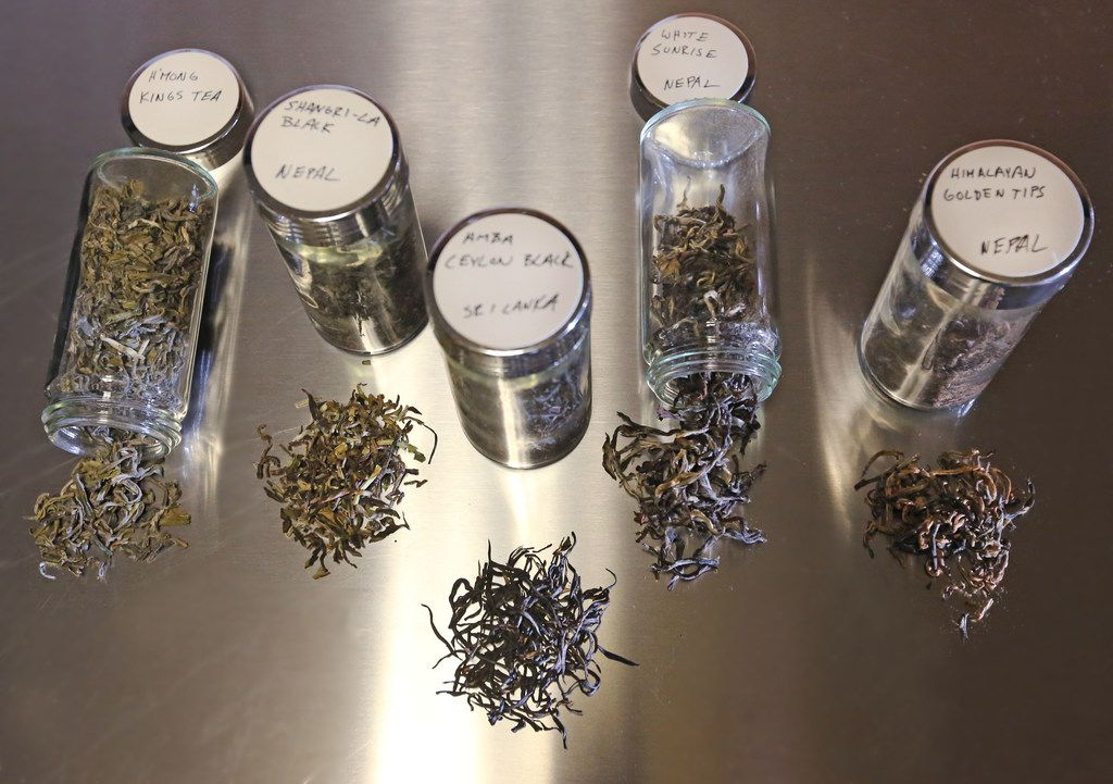 Rakkasan Tea Company in Dallas imports rare teas from post-conflict countries like Vietnam, Nepal, Sri Lanka and Rwanda.