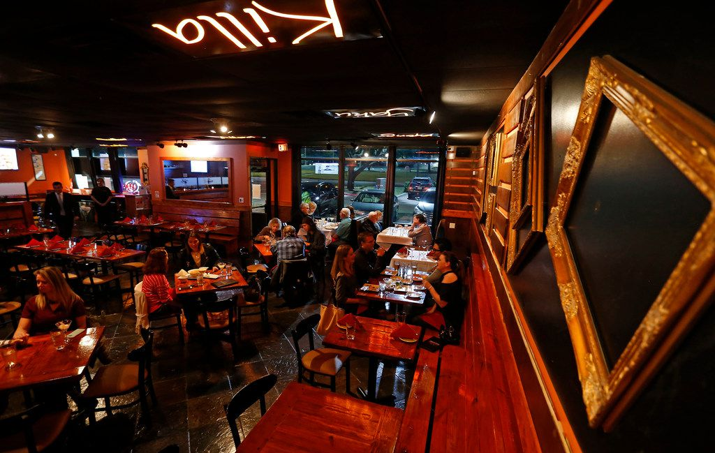 Patrons dine in at Lima Taverna  in Plano. (Jae S. Lee/The Dallas Morning News)
