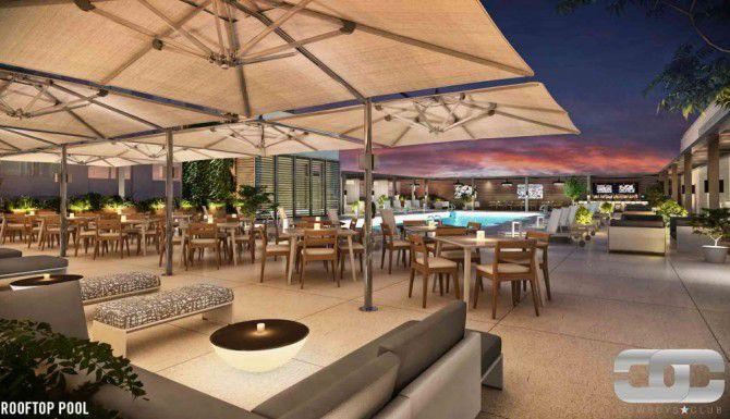 El nuevo centro de los Cowboys tendrá una piscina en una de las terrazas, exclusiva para miembros.
