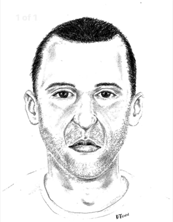 Police release a sketch of the suspect this week.