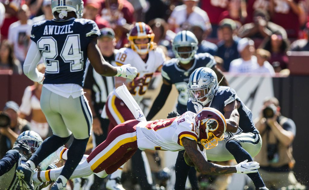 Not there yet: While the Cowboys' offense shines, the defense has room to improve after failing to close Sunday's win