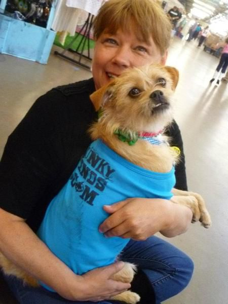 Aundrea Cooper of Euless and her Zoey attended last year's Funky Finds Spring Fling.