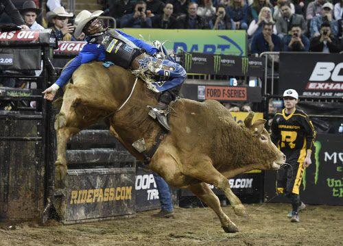 El evento mundial de rodeo de PBR llega a Dallas este fin de semana. (Photo by Sarah Stier/Getty Images)