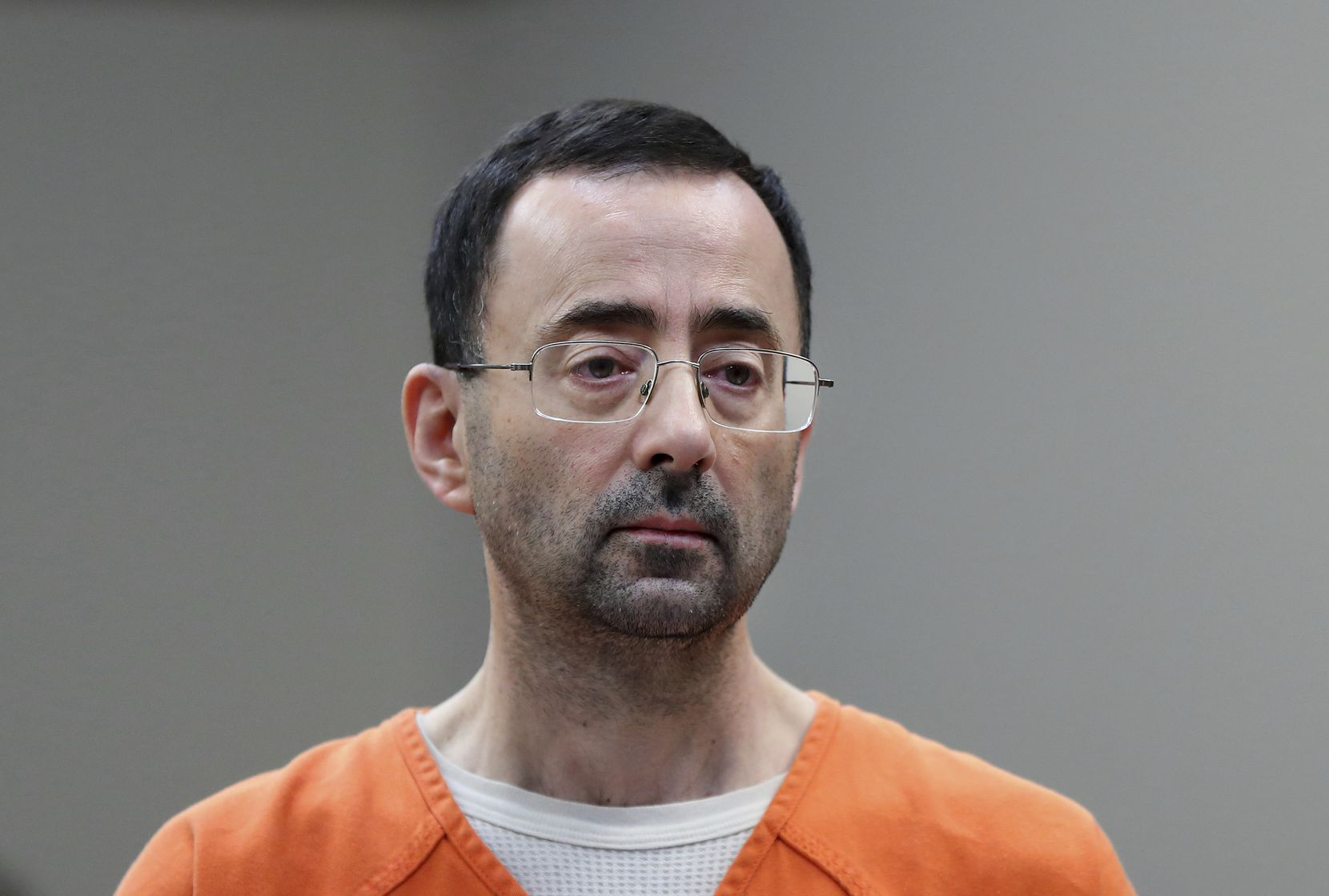 Larry Nassar. (AP Photo/Paul Sancya, File)