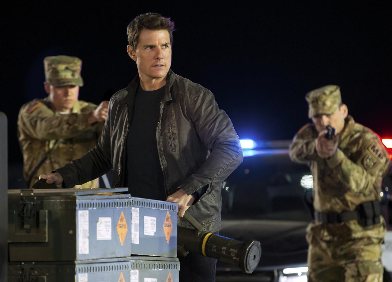 """Tom Cruise protagoniza """"Jack Reacher: Never Go Back"""", un filme de Paramount Pictures y Skydance Productions. (AP/Chiabella James)"""
