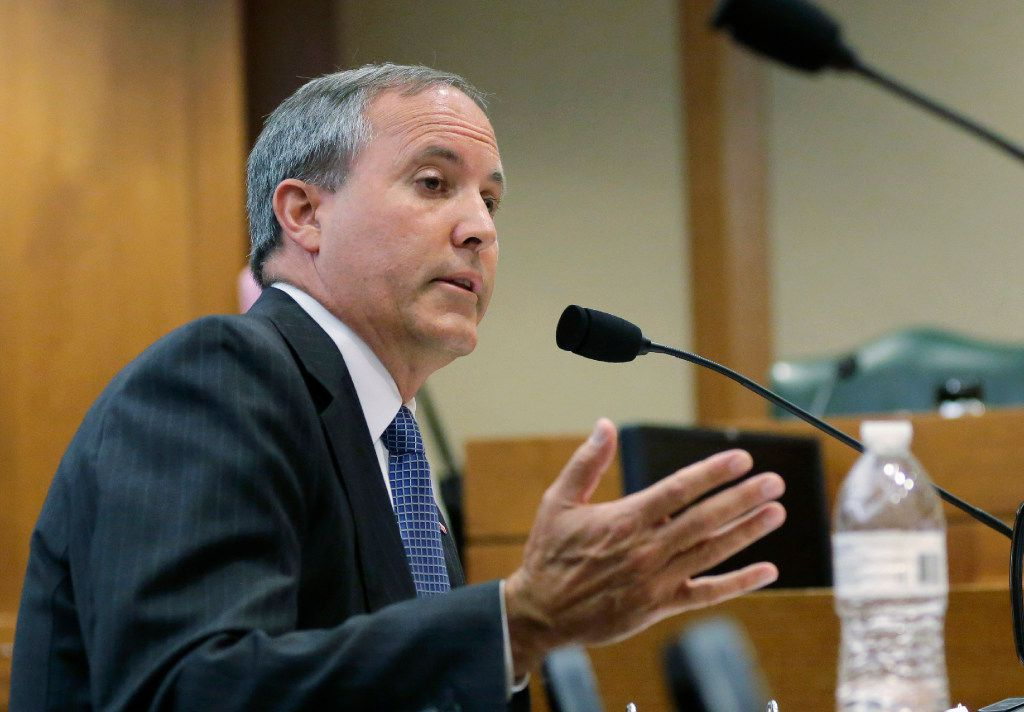Texas Attorney General Ken Paxton (2015 File Photo/The Associated Press)