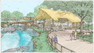 The exhibit will be funded through private donations. Most of the money has already been raised. (Dallas Zoo)