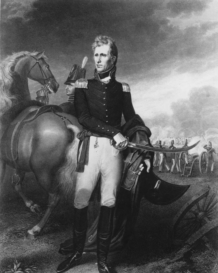 A portrait of Andrew Jackson in an undated handout photo. (The New York Times)