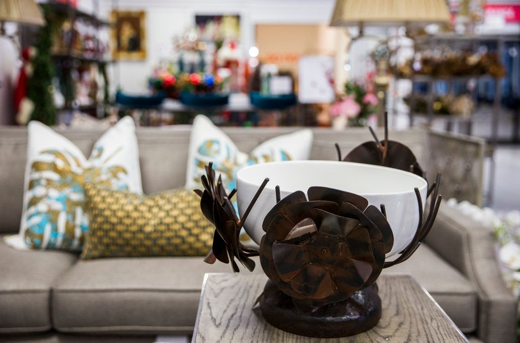 Off-price home decor items are on display at  Horchow Finale on Thursday, January 17, 2019 in Plano. Horchow Finale is a home decor store associated with Neiman Marcus Last Call.