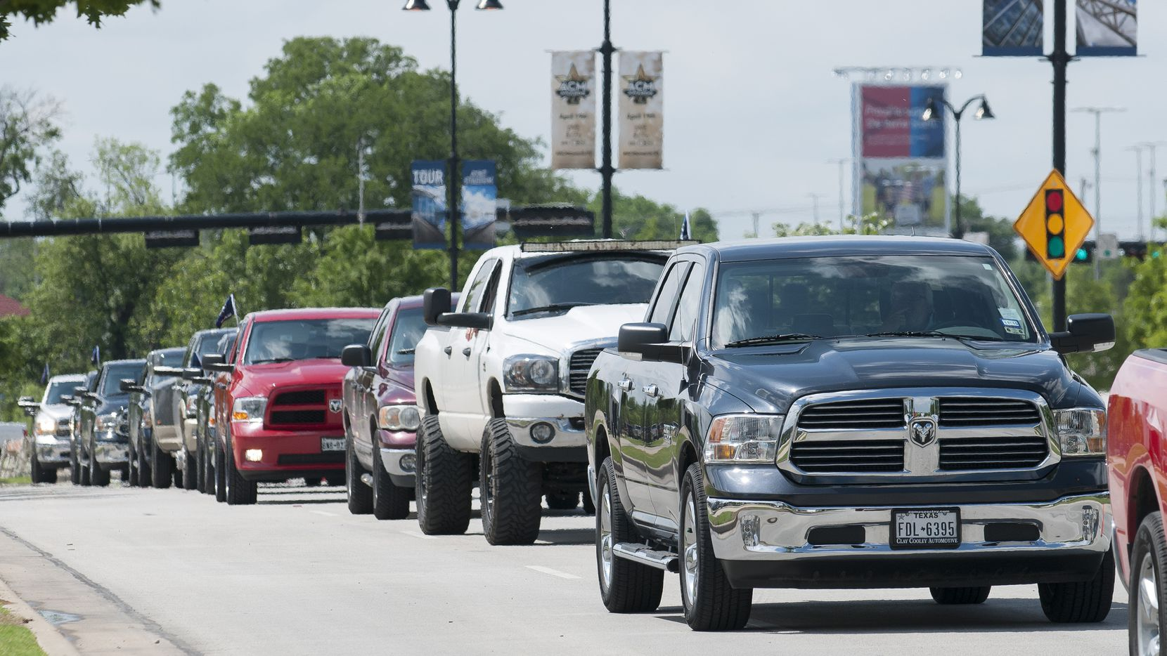 Participants in the Ram Roundup parade on Saturday.