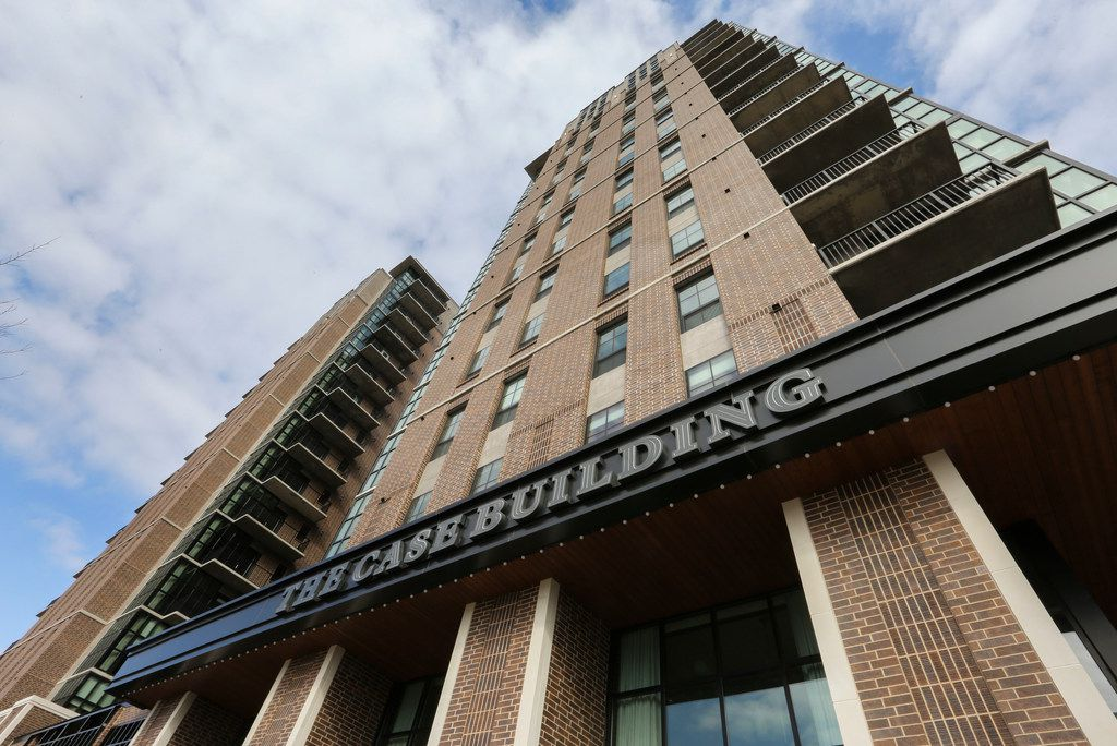 The Case Building is located at Main and Hall Streets in Deep Ellum.