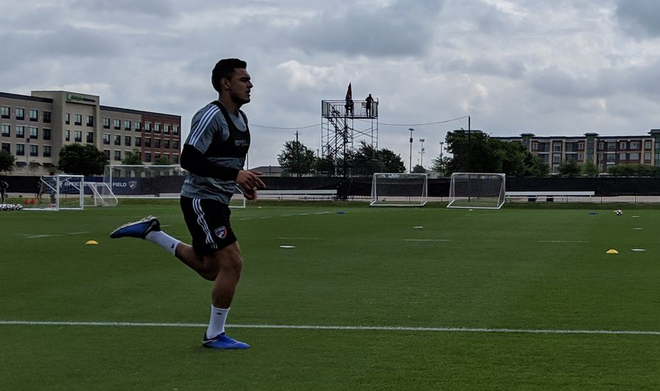 Cristian Colman returned to FC Dallas training on April 23rd, 2019, after recovering from surgury to repair a torn ACL.