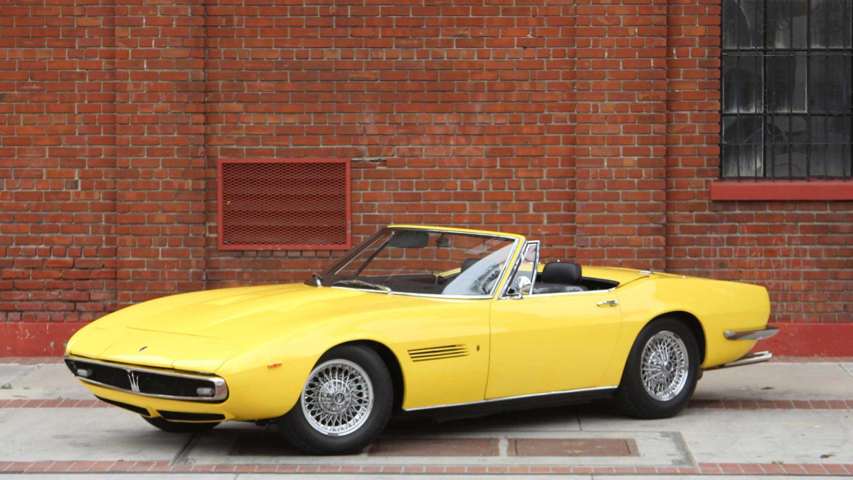 Lot S107.1 1969 Maserati Ghibli 4.9 Spyder (Mecum)
