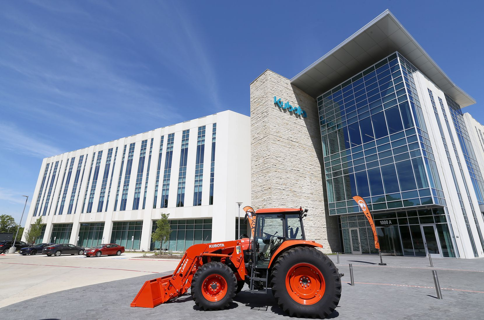 Paycom Software's new Grapevine campus will be near Kubota's North American headquarters.