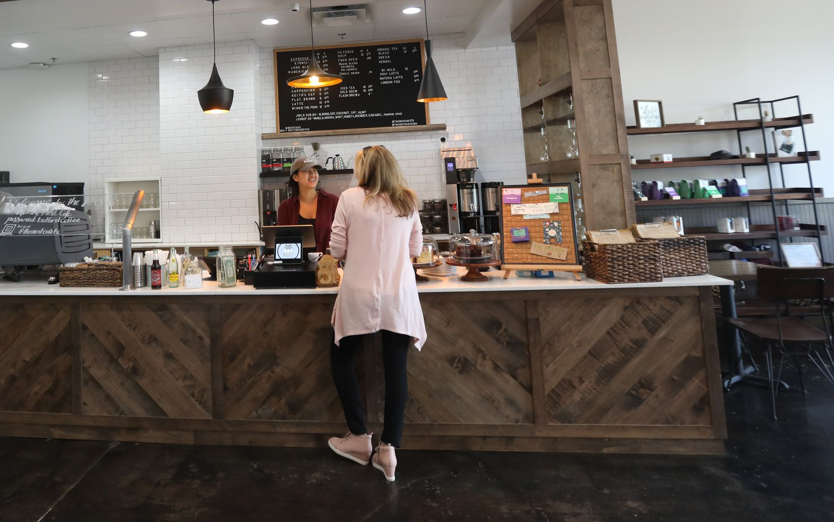 The Nest Cafe in Frisco offers a full menu of healthy dishes.