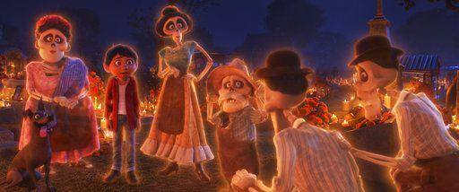 La película de Disney, Coco, habla sobre el Día de los Muertos. Foto Pixar