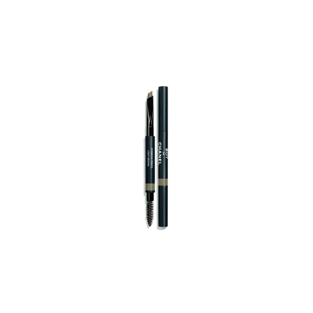 The Boy de Chanel makeup line for men includes eyebrow pencils in four waterproof shades